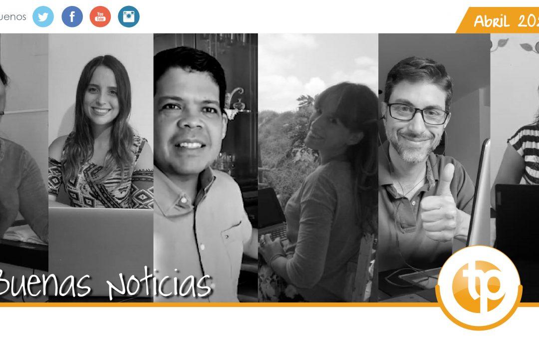 In English: Las Buenas Noticias de «Trabajo y Persona» – April 2020